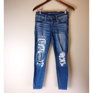 American Eagle•Next Level Stretch Distressed Jeans